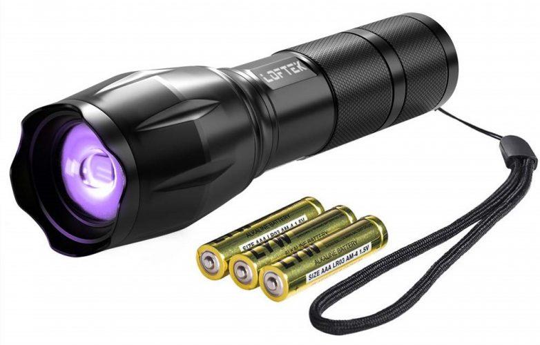 Loftek Adjustable Focus UV Flashlight