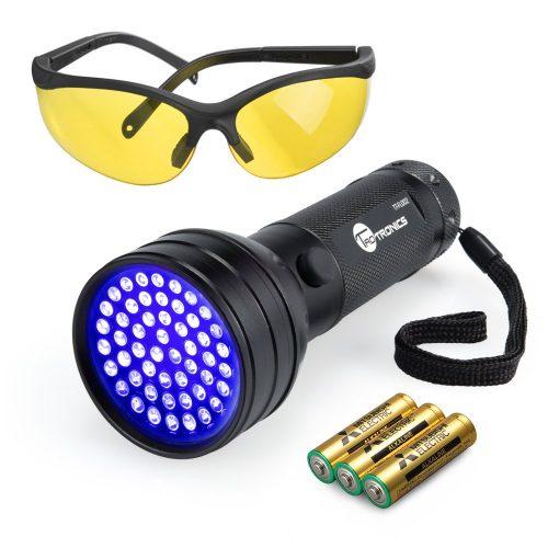ToaTronics Black Light UV flashlight